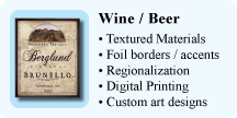 Wine - Beer Labels