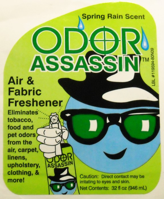 odor assassin label lg